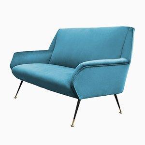Italienisches Sofa von Gigi Radice, 1950er