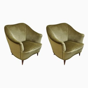 Italian Lounge Chair by Gio Ponti for Casa e Giardino, 1952, Set of 2