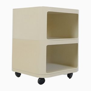 Italian Plastic Model 4970 Componibili Rollcontainer by Anna Castelli Ferrieri for Kartell, 1970s