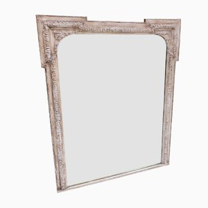 Antique French Overmantel Mirror