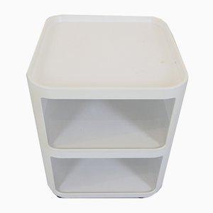 Italian Modell 4970 Componibili Quadrati Plastic Roll Containers by Anna Castelli Ferrieri for Kartell, 1990s