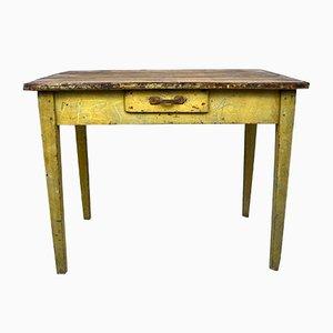 Tavolo da bambino Mid-Century industriale in pino, anni '60