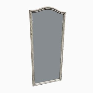 Großer französischer Spiegel im Rahmen aus geschnitztem Holz, 19. Jh