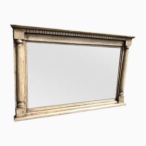 Specchio da camino antico in legno intagliato, Regno Unito