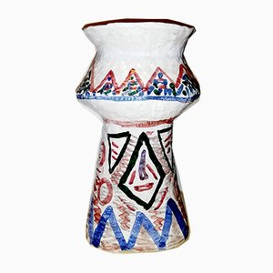 Mid-Century Italian Terracotta Vase by Nereo Boaretto