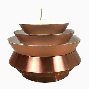 Lámpara colgante Trava de aluminio de Carl Thore para Granhaga Metallindustri, años 60