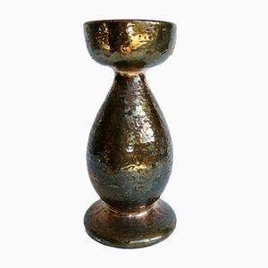 Italian Ceramic Vase by Aldo Londi for Bitossi, 1970s