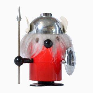 Olaf The Viking Tischlampe von Odtimer Ferrari Italy, 1960er