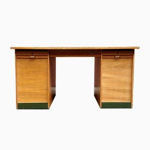 Mid-Century Schreibtisch aus Buchenholz, 1950er