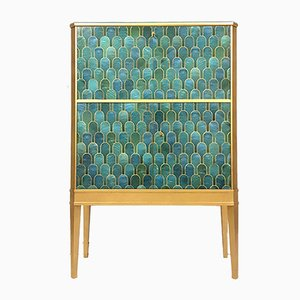 Large Swedish Mid Century Cocktail Cabinet