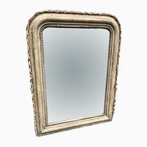 Antiker lackierter französischer Spiegel