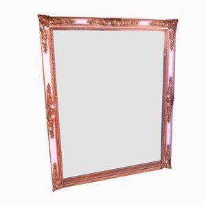Miroir de Cheminée Antique Doré, France