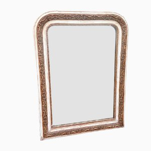 Antique French Mirror with an Arched Top