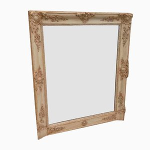 Antique French Louis Phillippe Overmantal Mirror