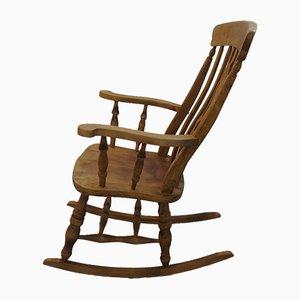 Rocking Chair Vintage en Bois, Angleterre, 1970s