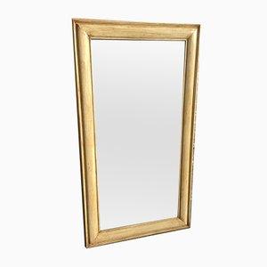 Specchio grande antico in legno intagliato, Francia