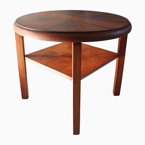 Table Basse Ronde Mid-Century, 1960s
