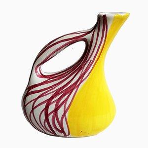 Italian Ceramic Jug from Ceramiche Deruta, 1950s