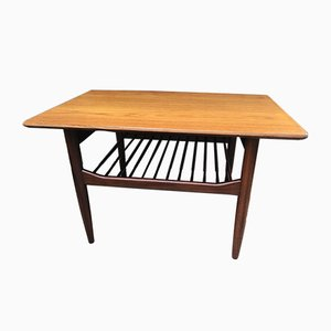 Teak and Afromosia Coffee Table by Ib Kofod Larsen for G-Plan, 1960s