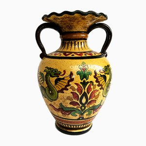 Italian Ceramic Vase by Carla Fossetti for Etruria Montopoli, 1968