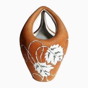 Vintage Italian Ceramic Vase by Ferruccio Palazzi for Fiamma Roma