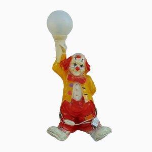 Vintage Clown Tischlampe, 1980er