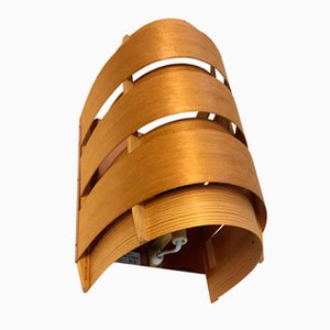 Vintage Pine Sconce by Hans-Agne Jakobsson, 1960s