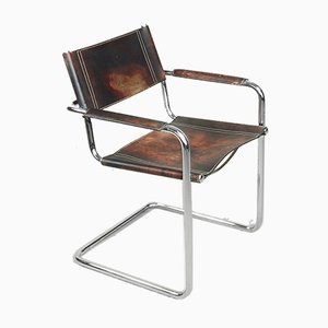 Bauhaus MG5 Chairs by Matteo Grassi, 1960s, Set of 4