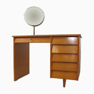 Mid-Century Birch Dressing Table