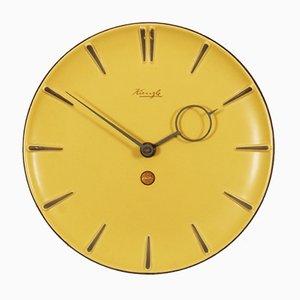 Reloj alemán Mid-Century de cerámica, años 50