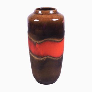 Vaso vintage in ceramica di Fabiola per Scheurich, Germania, anni '70