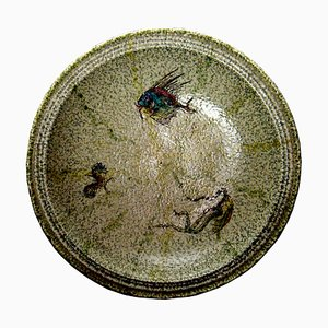 Vintage Decorative Plate from IAMA Albissola