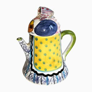 Mid-Century Italian Ceramic Jug by Farin for Italica ARS