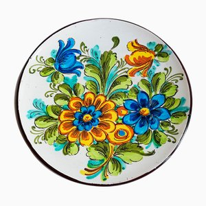 Vintage Wall Plate by Mignini for ART Abruzzese, 1980s
