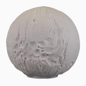 Deutsche Bisque Op Art Moon Vase von Hutschenreuther, 1970er