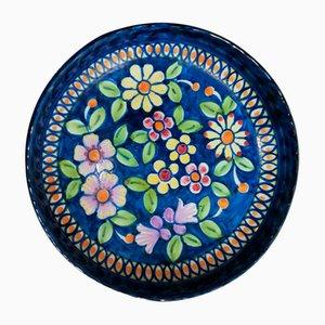 Vintage Keramikteller, 1963
