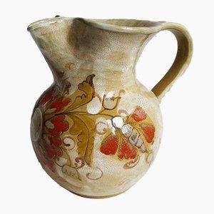 Mid-Century Italian Ceramic Jug by Elio Schiavon