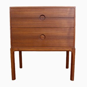 Danish Teak Model 386 Chest of Drawers by Aksel Kjersgaard, 1950s