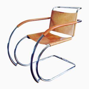 Vintage MR20 Armlehnstühle von Mies van der Rohe, 2er Set