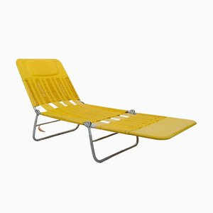 German Metal and Plastic Garden Lounger from KURZ Gartenmöbel, 1960s