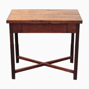 Antique Mahogany Game Table, 1830s