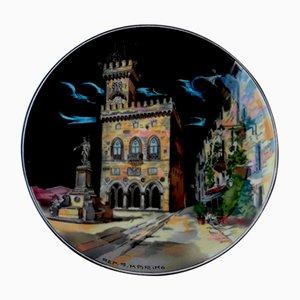 Vintage San Marino Centerpiece from Titano R.S.M.