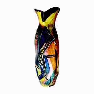 Mid-Century Italian Ceramic Vase from Titano R.S.M.