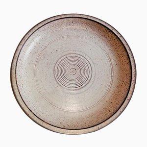 Italienischer Mid-Century Keramikteller von Tasca