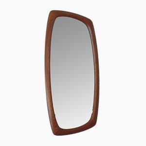 Mid-Century Scandinavian Modern Asymmetric Mirror, 1950s