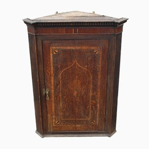 Antique Oak Corner Cupboard, 1820s