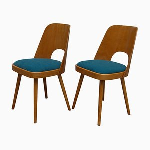 Mid-Century No. 515 Dining Chairs by Oswald Haerdtl for TON, 1950s, Set of 2