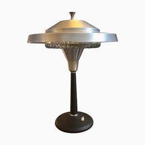 Lámpara de mesa italiana era espacial, años 60