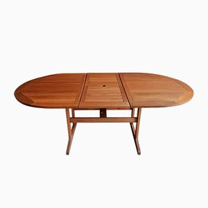 Vintage Teak Dining Table, 1980s