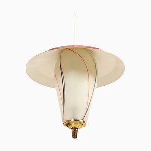 Lámpara de techo danesa Mid-Century